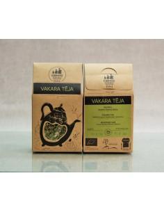Zāļu tēja Vakara, bioloģiska