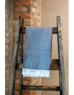 Pelēks lina dvielis - galda...