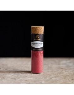 Aveņu rozā sāls mocarellai...